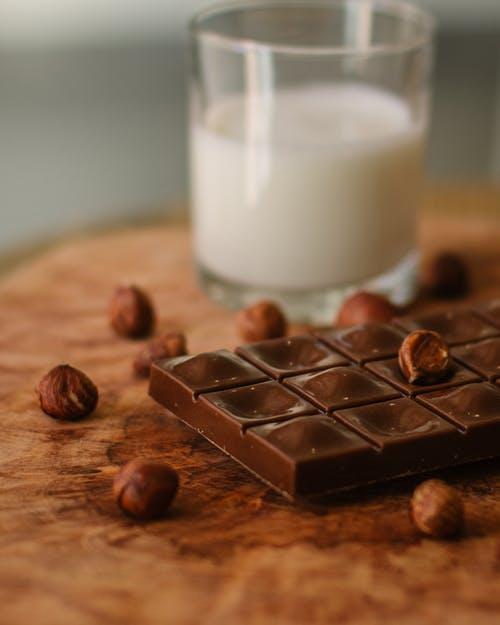 5 Elisen mit Vollmilchschokolade